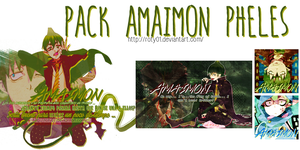 Pack Amaimon Pheles by Roty01