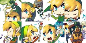 TLoZ Sticker Pack by louten