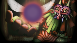 Majora's Mask: Skull Kid by MrBuckalew