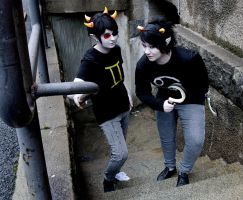Homestuck cosplay by Un-Go