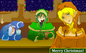 Merry Christmas and Happy Holidays by Atata