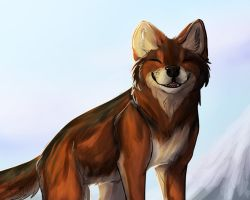 Red Wolf by Rae-elic