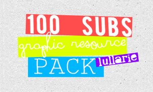 lullarie`100subscribers resource pack by slaysx