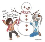 Mr Snow Cookie - CookiieChang by theCookieClub