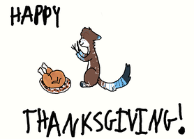 HAPPY THANKSGIVING!!! by Who-Butt