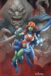 Miss Martian colors by Fuentes by ToddNauck
