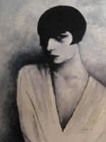Louise Brooks by Keyoyia