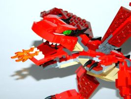 Toy Family - Lego Dragon 2 by LinearRanger
