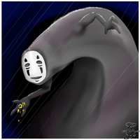 No-Face by Zusuriki