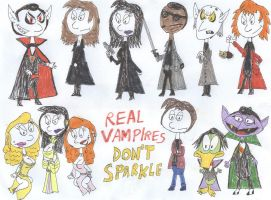 Real Vampires Don't Sparkle! by SithVampireMaster27