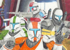 Clone Wars - Delta Squad Final by TolZsolt