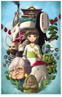 Spirited Away by chrissie-zullo