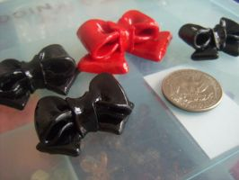 WIP Bows by jely-claris-anne