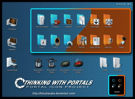 Thinking with Portals - Pack 1 by FeliusTanaka