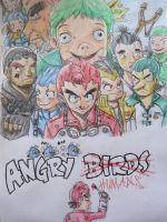 Angry Birds...Humans by RazPerm