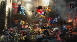 The Guardians VS Thanos by WOLFBLADE111