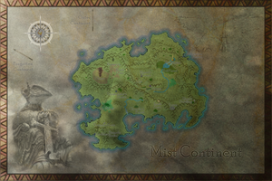Mist Continent Map by Lord-Cephas
