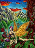 Forest Fearie by Lathrin
