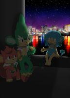 Meet At Night by Winick-Lim