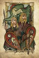 Tarot: The Chariot by SceithAilm