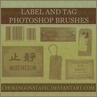 label and tag brushes by chokingonstatic