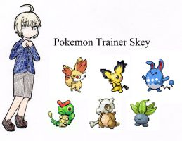 Skey's trainer card by SwimFree