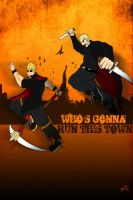 Who's gonna run this Town? by Adder24