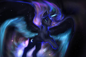 The birth of Nebula by ElkaArt