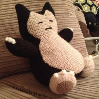 Snorlax Crochet Plush
