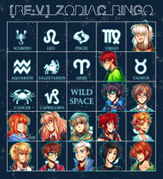 RE:V--Zodiac Bingo by Jubblier