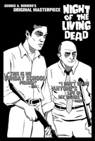 Night of the Living Dead: Ben and Harry by MarkItZeroNET