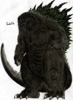 Godzilla version 2 by MonsterKingOfKarmen