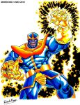 THANOS-MARVEL COMICS (MARKER-COLOR) by MUERTITO69
