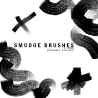 Paint Smudge Brushes for PSP by illicitxlollipopxx