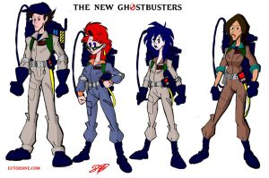 New Ghostbusters (v3) by Ectozone