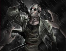 Jason Voorhees by axouel2009