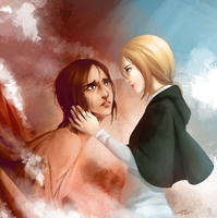 Attack on Titan: Ymir and Historia by FallingMist