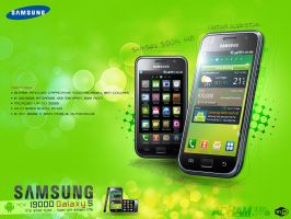 Samsung's Galaxy s I9000 by Masterydesigns