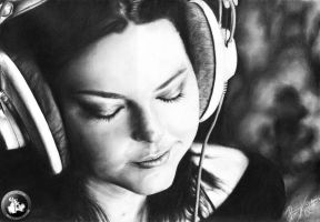 Amy Lee (Evanescence) by KondaArt