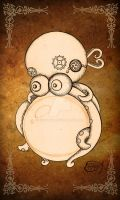 Steampunk Clockwork Octopus by EpHyGeNiA