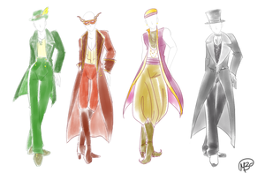 male fantasy fashion by marie-berry