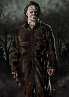 Michael Myers colors by jayodjick