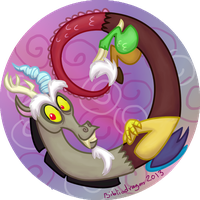 Discord Badge by bibliodragon