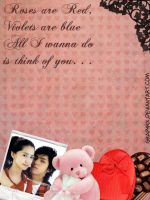 Valentine Page Layout no.1 by GraPHriX
