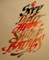 calligraphy names for my friends by NoksExcusedTeam