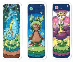 Pokemon bookmarks 3 by SunnyLedian