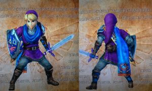 Link's standard master quest costume by isaac77598