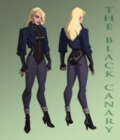 JUSTICE LEAGUE: CRISIS ON TWO EARTHS: BLACK CANARY by Jerome-K-Moore