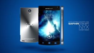 New Smartphone Concept from SAPHIR CONCEPT by Youness-toulouse
