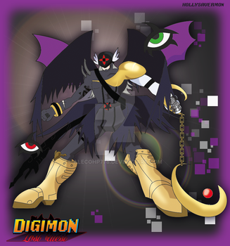 Digimon Lost Quest -LQ- Hollysavermon by alecohp778